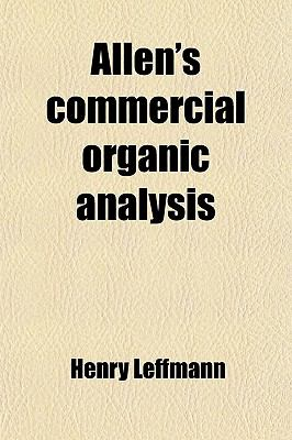 Allen's commercial organic analysis