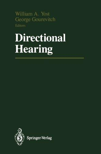 Directional Hearing (Proceedings in Life Sciences)