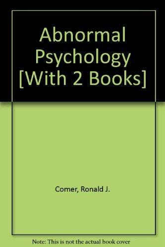 Abnormal Psychology, Case Studies & Scientific American Reader for Comer