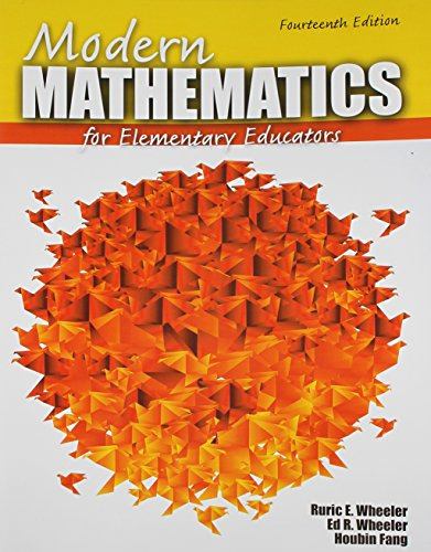 Modern Mathematics for Elementary Educators