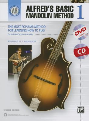 Alfred's Basic Mandolin Method 1 : The Most Popular Method for Learning How to Play, Book, CD and DVD
