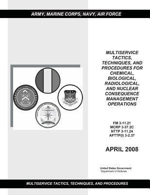 FM 3-11. 21 MCRP 3-37. 2C NTTP 3-11. 24 AFTTP (I) 3-2. 37 Multiservice Tactics, Techniques, and Procedures for Chemical, Biological, Radiological, and Nuclear Consequence Management Operations April 2008