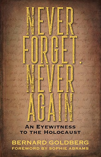 Never Forget, Never Again: An Eyewitness to the Holocaust