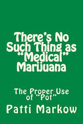 "There's No Such Thing as ""Medical"" Marijuana: The ""Proper"" Use of ""Pot"""
