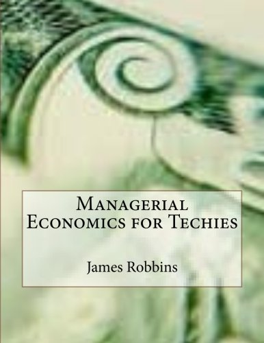 Managerial Economics for Techies