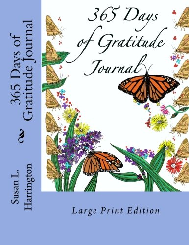 365 Days of Gratitude Journal LP: Large Print Edition