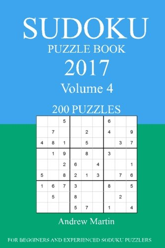 Sudoku Puzzle Book: 2017 Edition - Volume 4