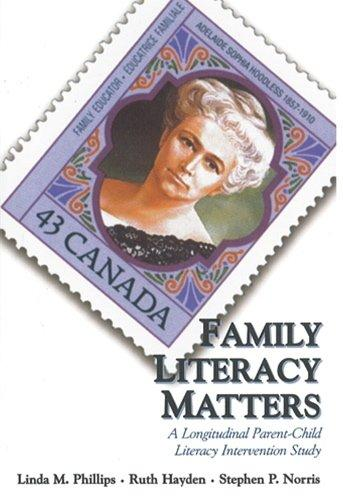 Family Literacy Matters: A Longitudinal Parent/Child Literacy Intervention Study