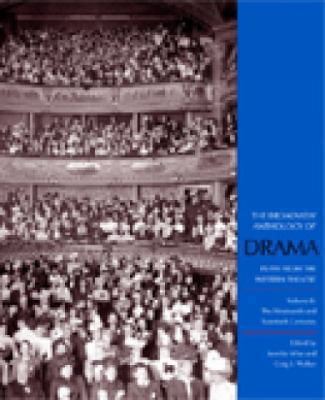 Broadview Anthology of Drama Plays from the Western Theatre  From Antiquity Through the Eighteenth Century