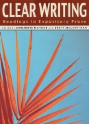 Clear Writing Readings in Expository Prose
