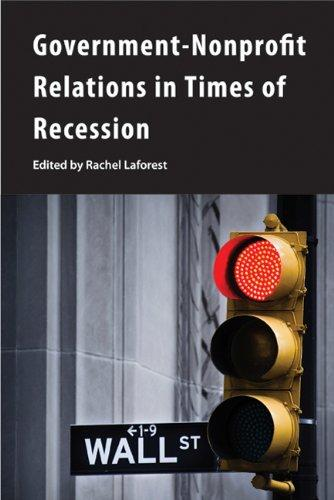 Government-Nonprofit Relations in Times of Recession (Queen's Policy Studies)