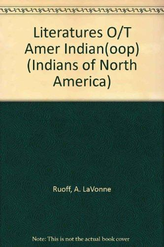 Literatures O/T Amer Indian(oop) (Indians of North America)