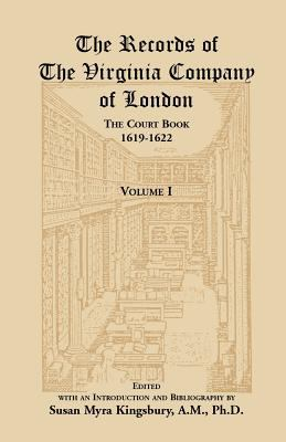 Records of the Virginia Company of London, the Court Book, 1619-1622