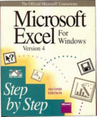 Microsoft Excel for Windows Step by Step - Microsoft Press - Paperback - 2nd ed