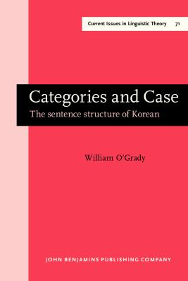 Categories and Case The Sentence Structure of Korean