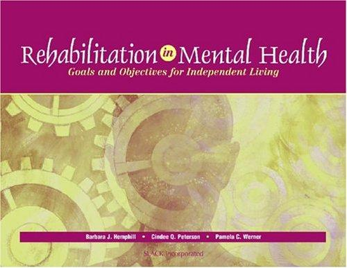 Rehabilitation in Mental Health: Goals and Objectives for Independent Living