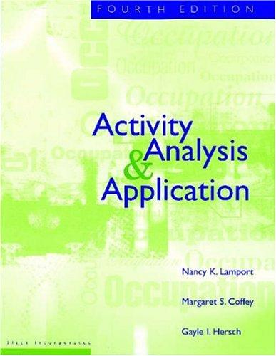 Activity, Analysis & Application, 4E