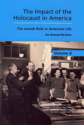 The Jewish Role in American Life: An Annual Review