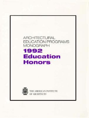 Education Honors 1992