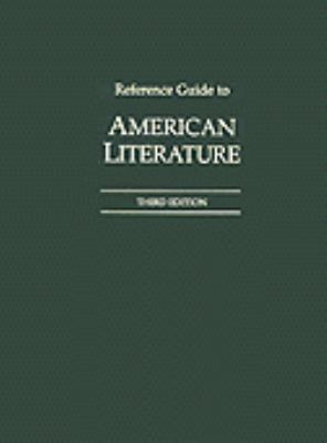 Reference Guide to American Literature