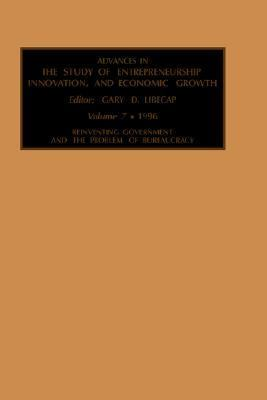 Advances in the Study of Entrepreneurship, Innovation, and Economic Growth