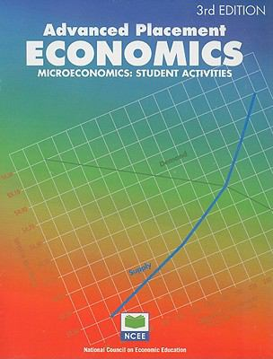 Advanced Placement Economics Microeconomics Student Activities