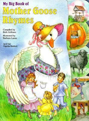 My Big Book of Mother Goose Rhymes: At Your Fingertips - McClanahan Book Company - Hardcover