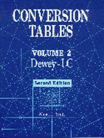 Conversion Tables: Volume 2 DeweyLC
