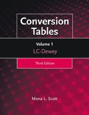 Conversion Tables Lc-Dewey