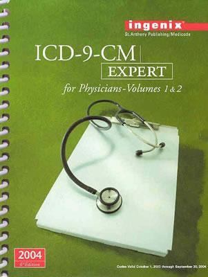 Icd-9-cm 2004:expert F/physicians V.1+2