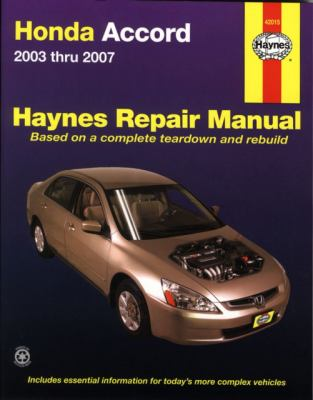 Honda Accord 2003-2007 (Haynes Repair Manual)