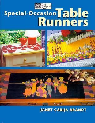 Special-Occasion Table Runners - Janet Carija Brandt - Paperback
