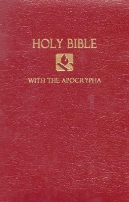 Holy Bible NRSV, Burgundy Imitation Leather, With the Apocrypha, Gift & Award