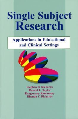 Single Subject Research Applications in Educational and Clinical Settings