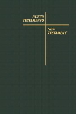Bilingual Spanish-English New Testament: Black vinyl, indexed