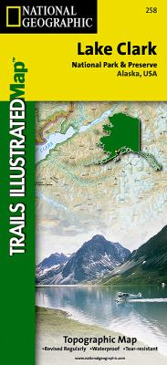 National Geographic Trails Illustrated Lake Clark National Park & Preserve Alaska, USA