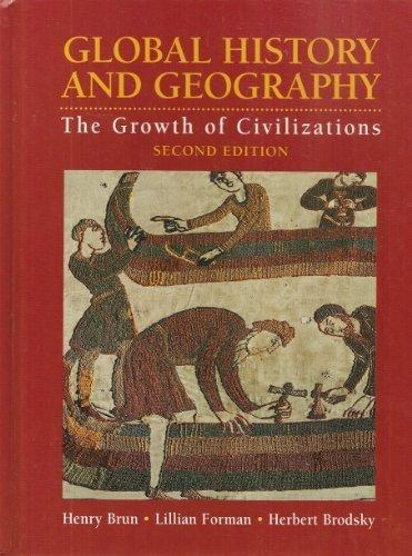 Global History and Geography: The Growth of Civilizations