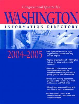 Washington Information Directory 2004-2005