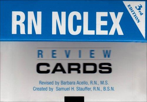 RN-NCLEX Review Cards