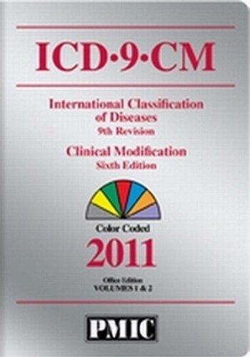 ICD-9-CM 2011 Office Edition, Volumes 1 & 2