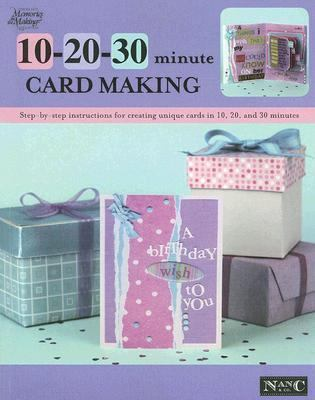 10 20 30 Minute Card Making