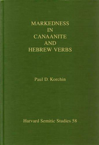Markedness in Canaanite and Hebrew Verbs