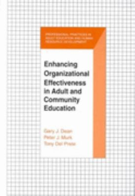 Enchancing Organizational Effectiveness in Adult and Community Education