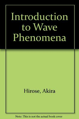 Introduction to Wave Phenomena