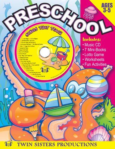 Preschool 96pg Workbook & Music Set (Early Childhood Learning, 4)