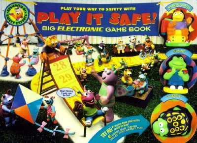 Skip and Wiggles Play It Safe !: Big Electronic Game Book - Tony Basilicato - Board Book - BOARD