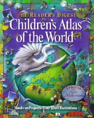 Children's Atlas of the World - Reader's Digest - Hardcover - REVISED
