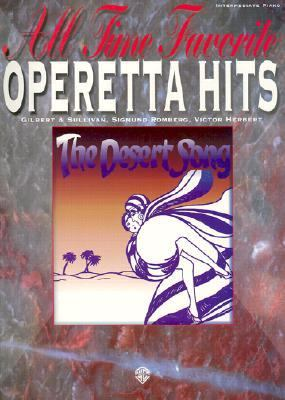 All Time Favorite Operetta Hits Piano Vocal Folio
