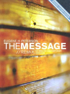 Message/Remix The Bible in Contemporary Language Bonded Leather