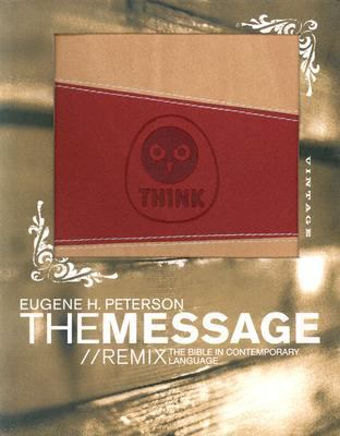 Message Remix Duotone Red & Beige